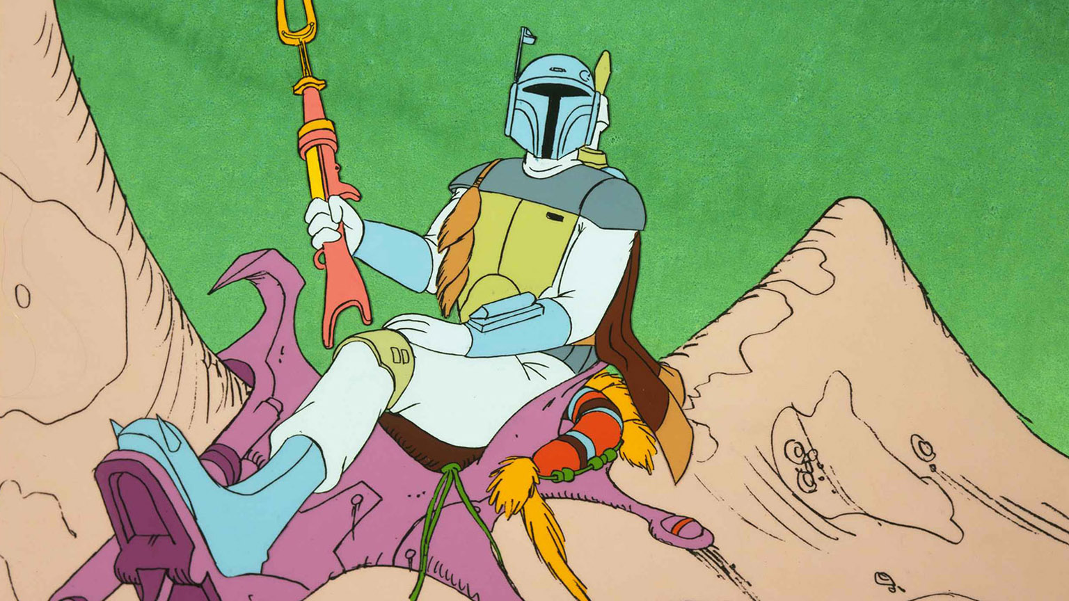Boba Fett in The Star Wars Holiday Special.