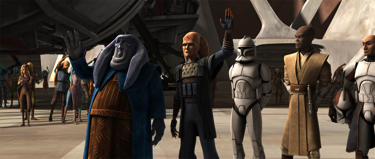 """A scene from """"Liberty on Ryloth."""""""