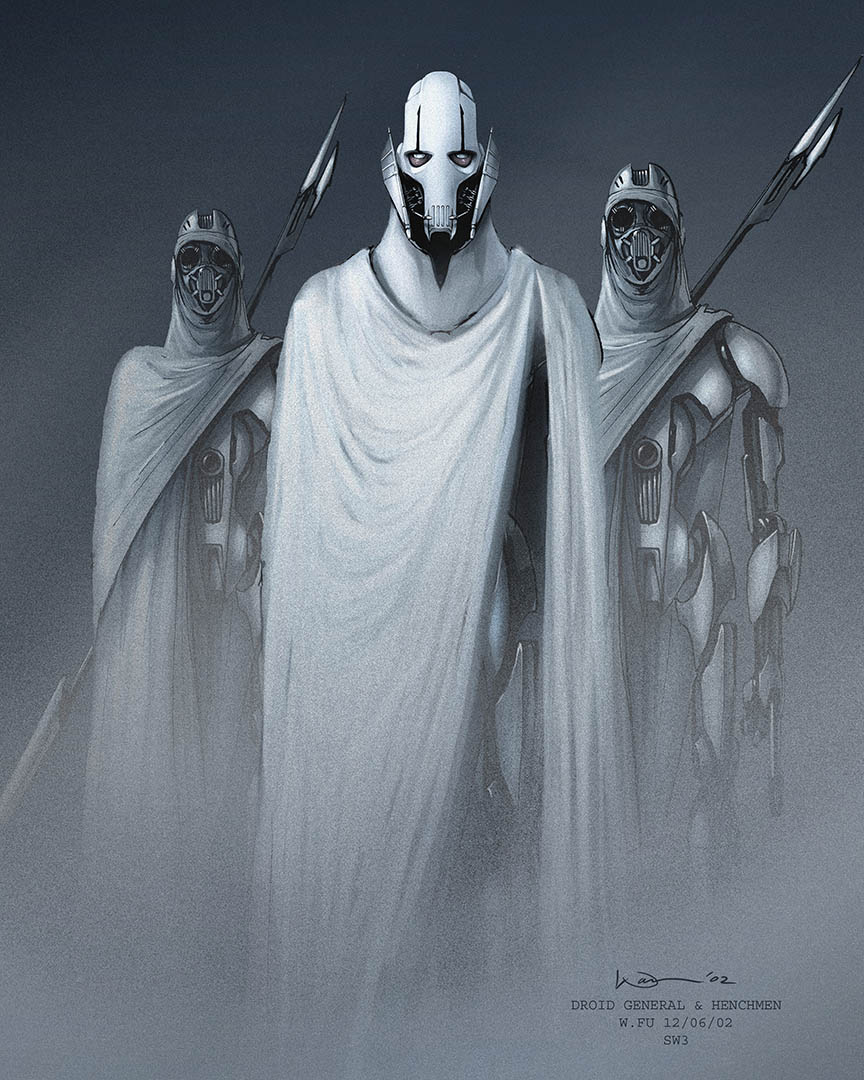 Concept art of General Grievous