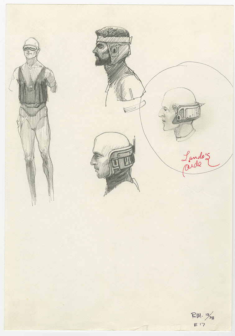 Concept art of Lobot.