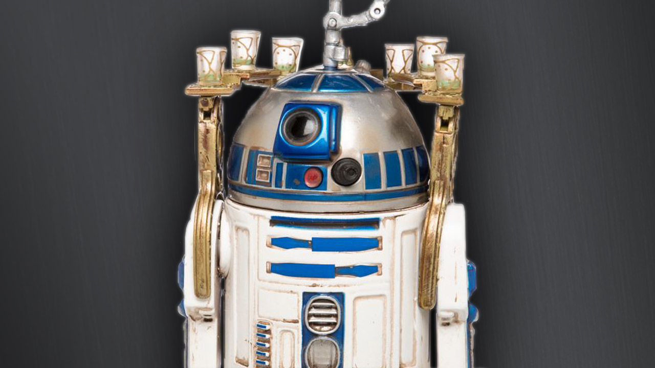 Elite Series R2-D2 figure -- with drinks tray!