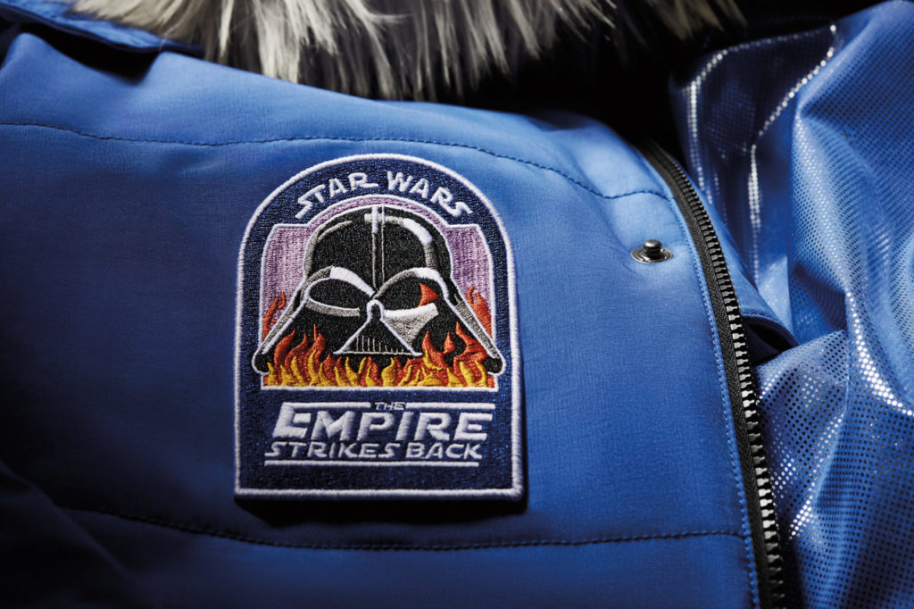 Star Wars: Empire Crew Parka Vader patch.