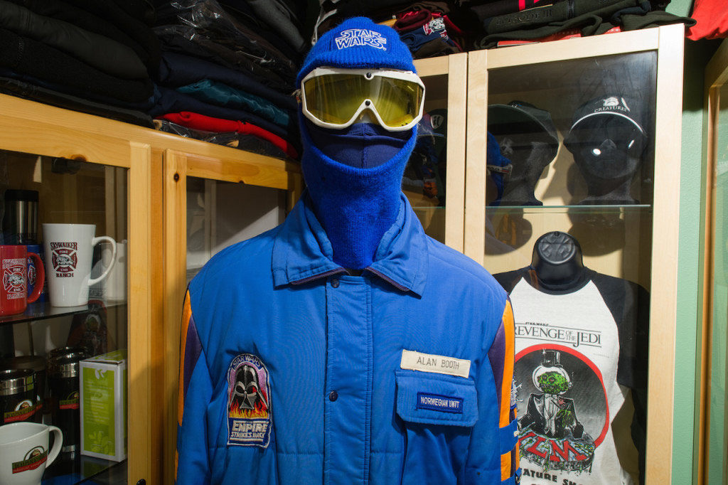 Gus Lopez's original Empire Strikes Back crew parka.