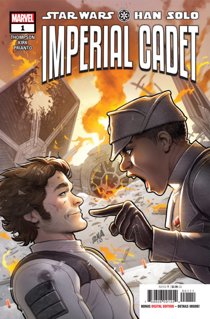 The cover for Marvels Han Solo: Imperial Cadet #1.