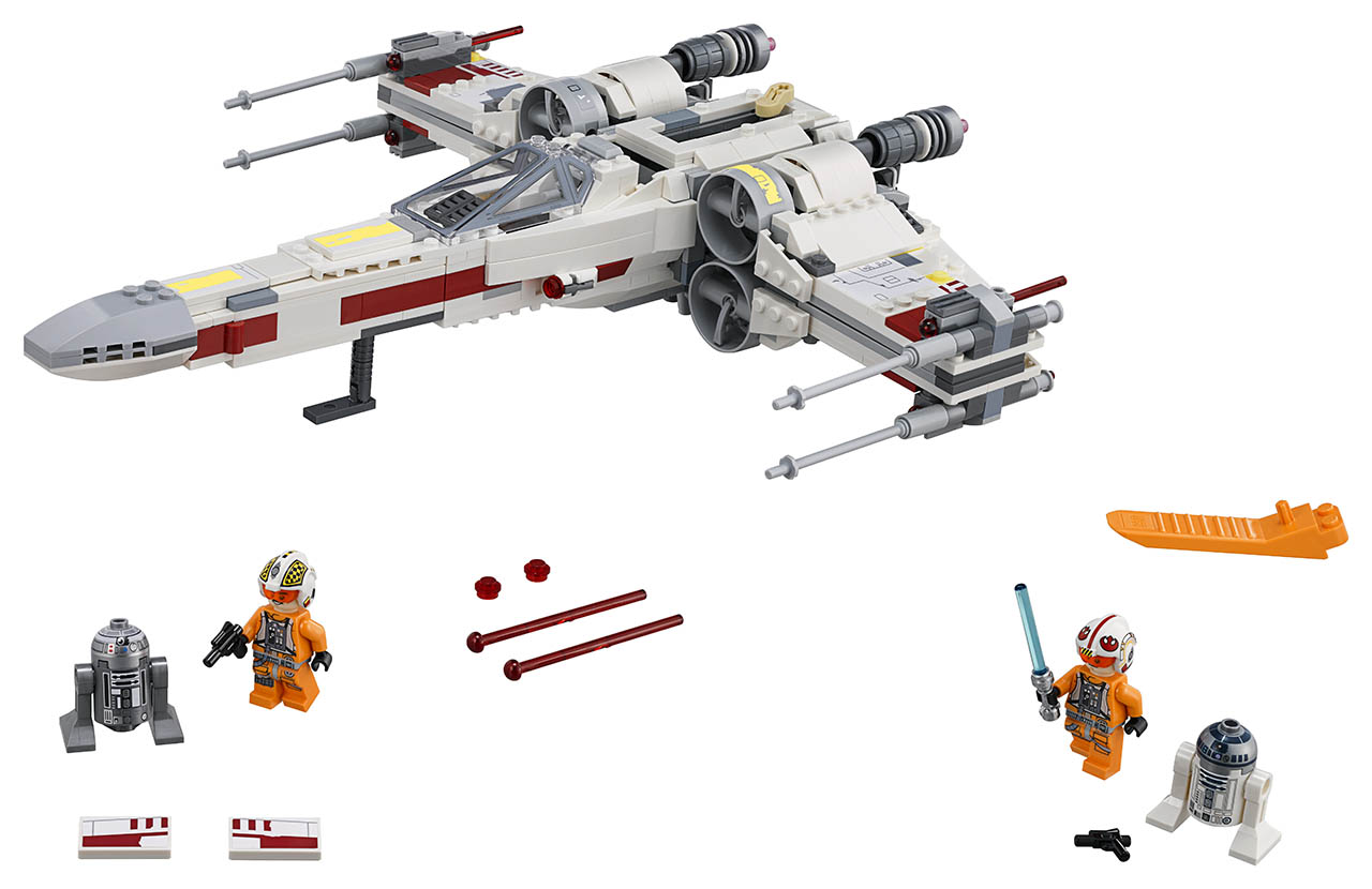A LEGO X-wing.