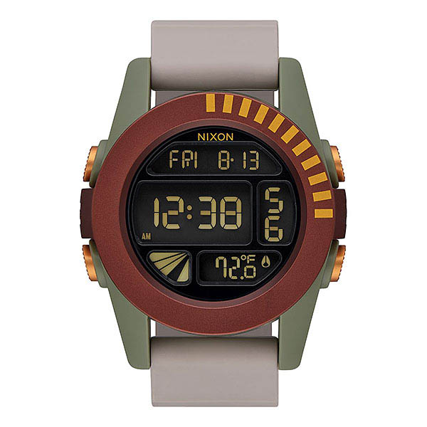 A Nixon Boba Fett watch.