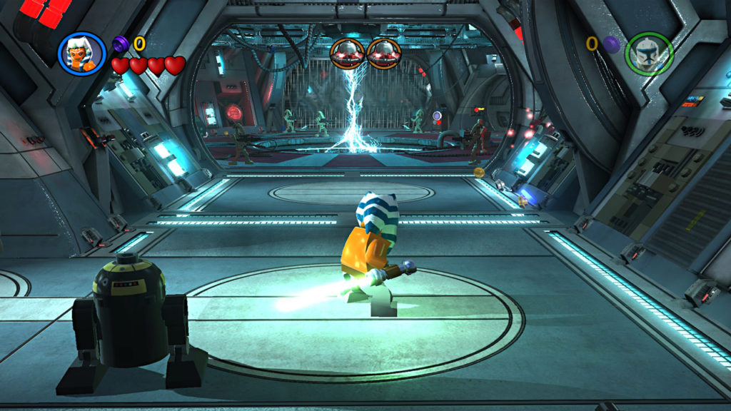 Ahsoka Tano in LEGO Star Wars III: The Clone Wars.
