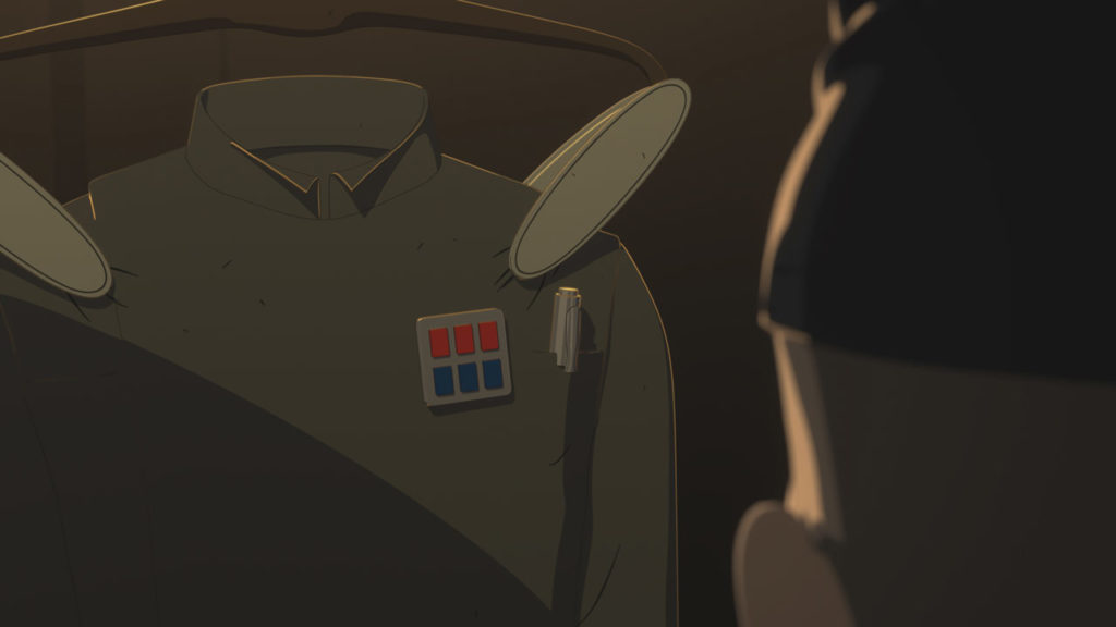 Captain Doza's Imperial uniform in Star Wars Resistance.