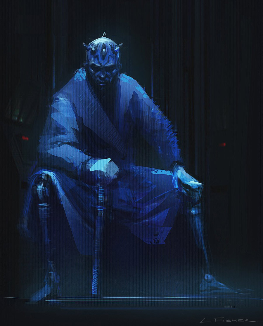 Concept art of Maul