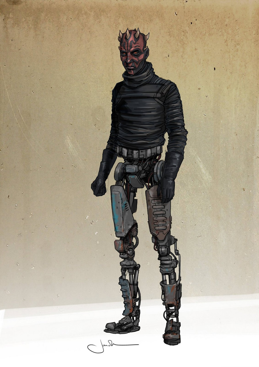 Designing Star Wars Cyborgs Twisted And Evil Starwars Com