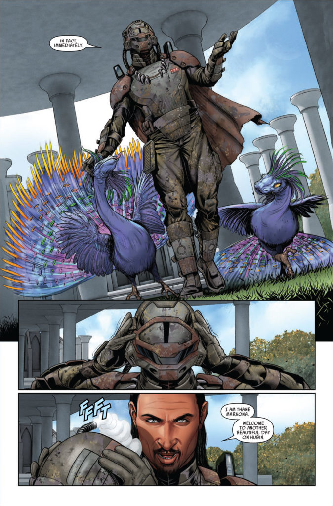 Marcona in Marvel's Star Wars #57.