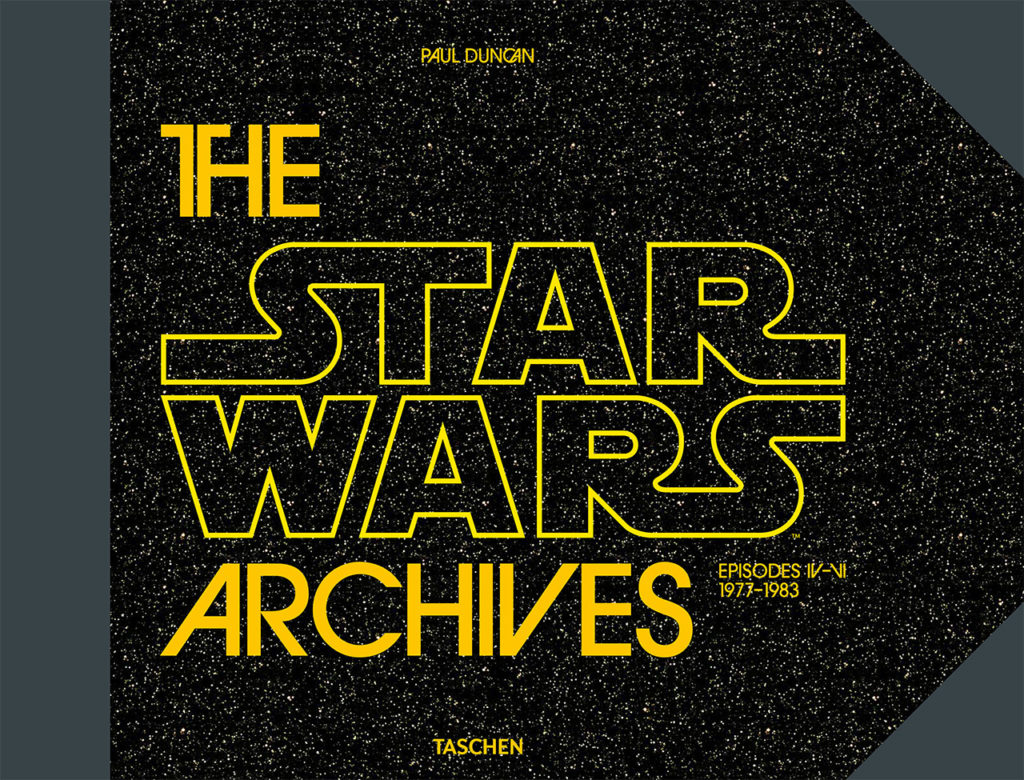 The cover of The Star Wars Archives.