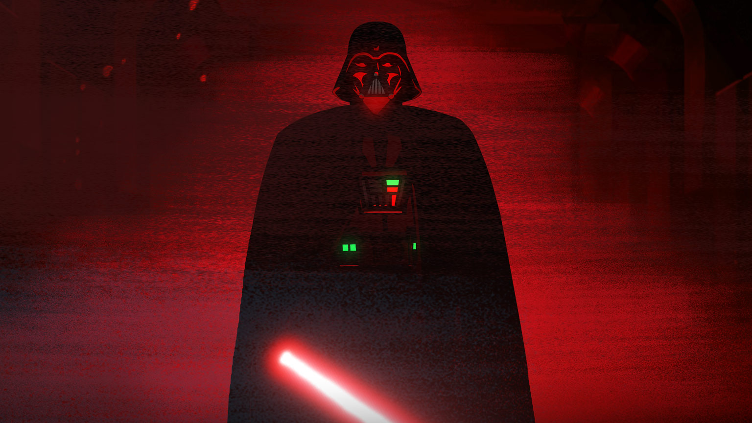 Darth Vader in Star Wars Galaxy of Adventures.