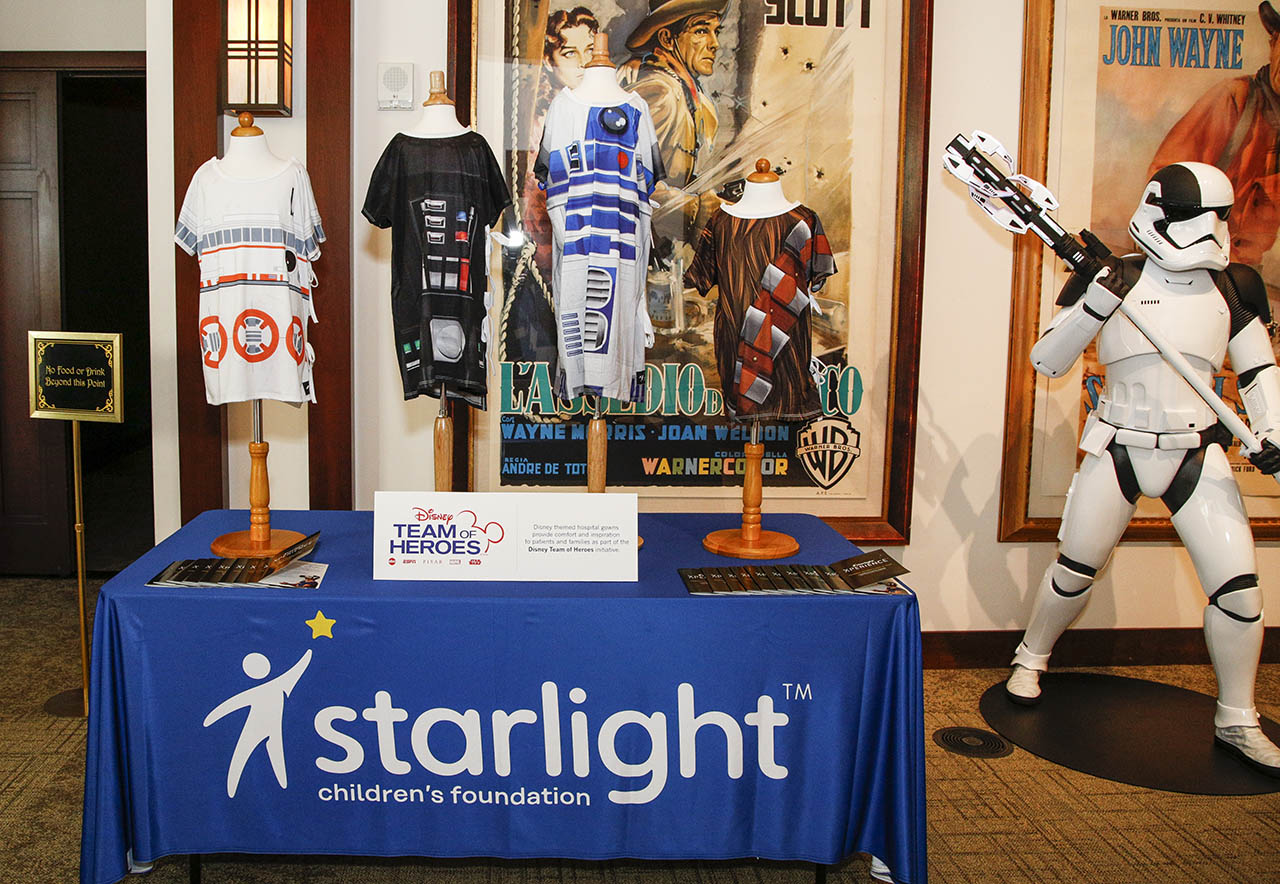 Samples of Starlight Gowns are shown.