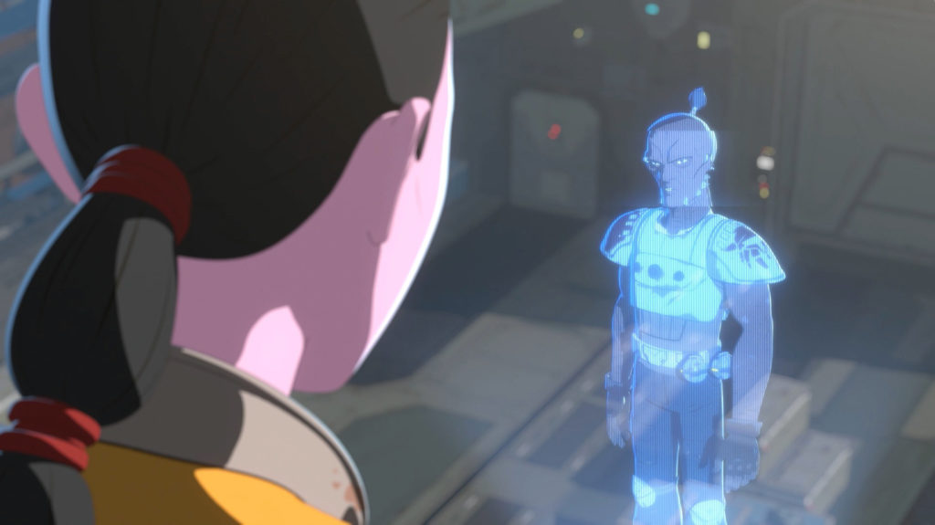 The pirate Drell in Star Wars Resistance.