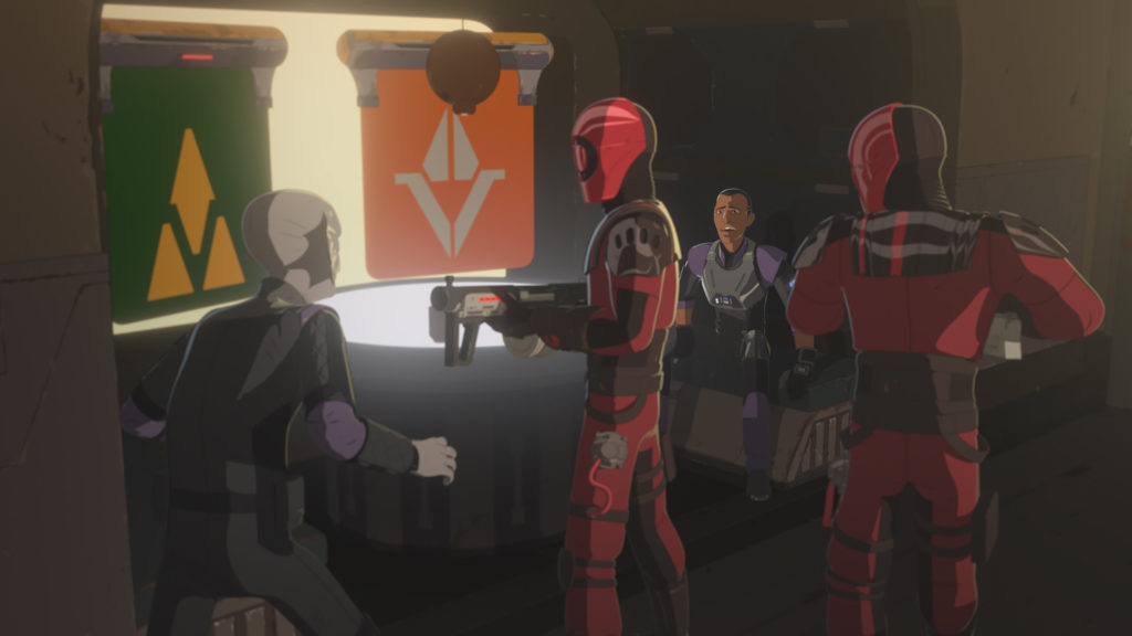 The Guavian Death Gang in Star Wars Resistance.