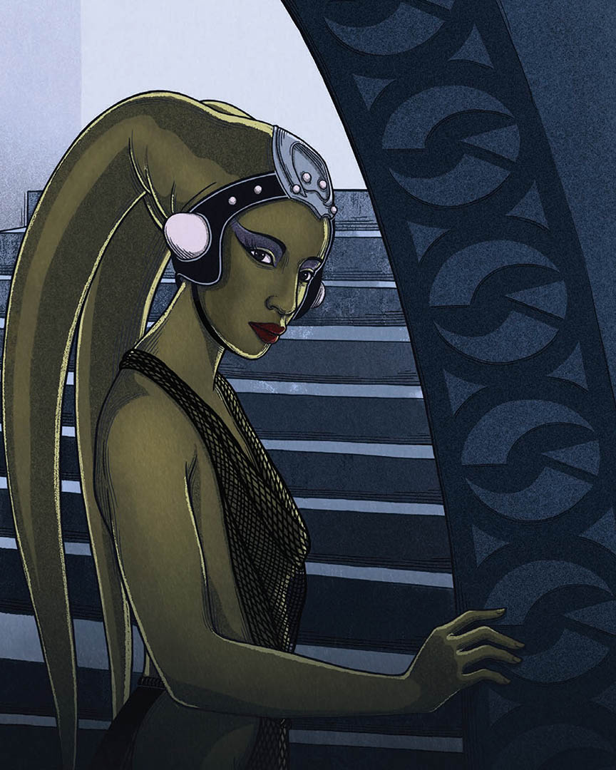 Oola as seen in the book Women of the Galaxy.
