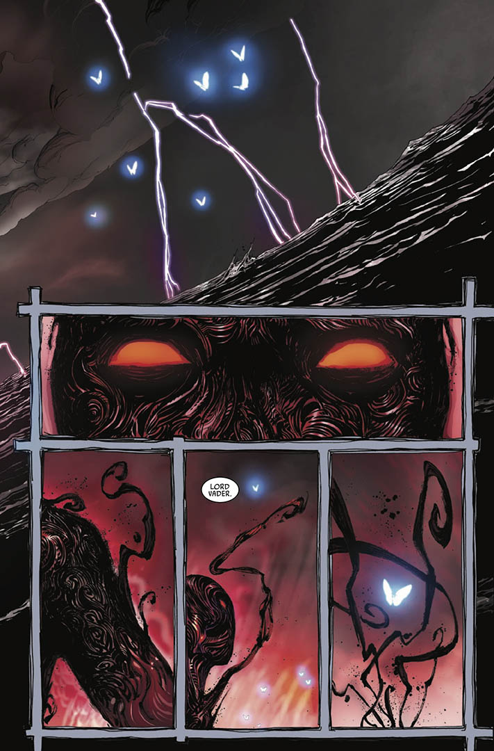 A page from Issue 8 of Marvel's Darth Vader: Dark Lord of the Sith.