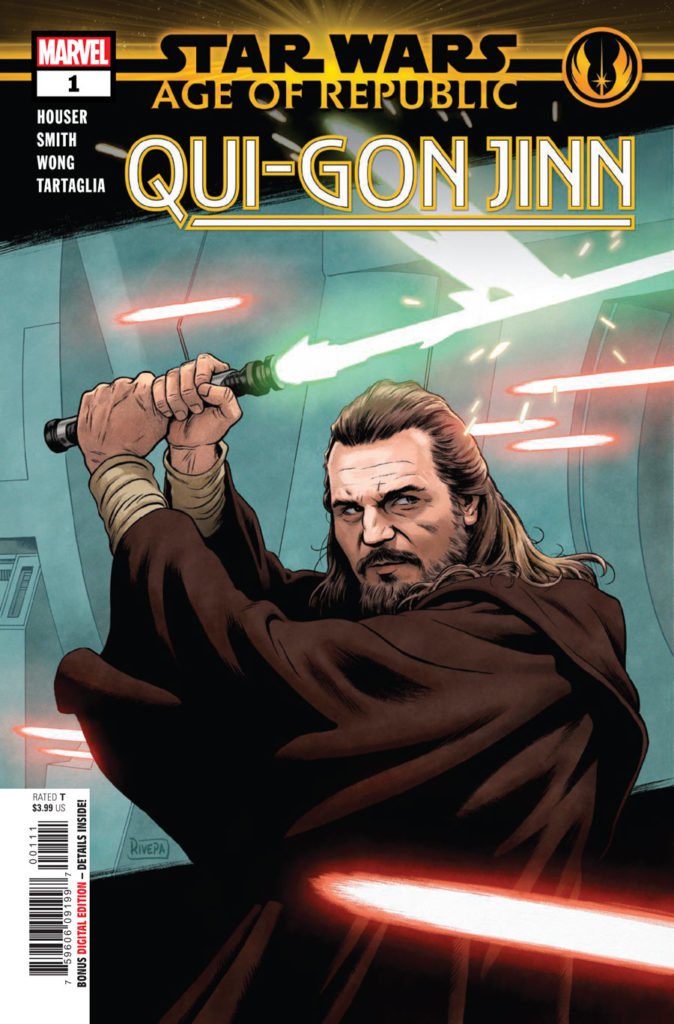 Age of Republic: Qui-Gon Jinn cover.