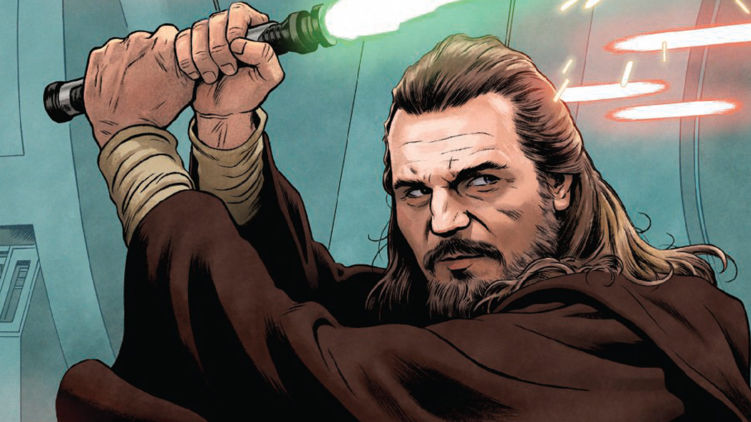 Qui-Gon Jinn from the cover Age of Republic: Qui-Gon Jinn.