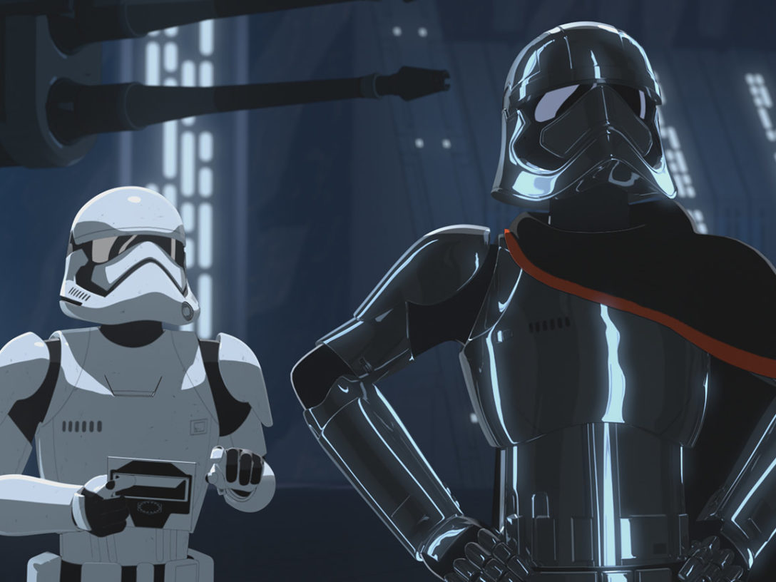 Captain Phasma in Star Wars Resistance.
