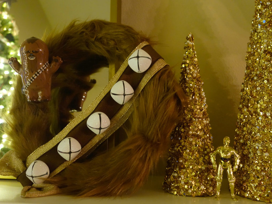 Chewbacca wreath