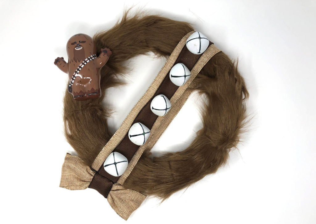 Chewbacca wreath craft finished!