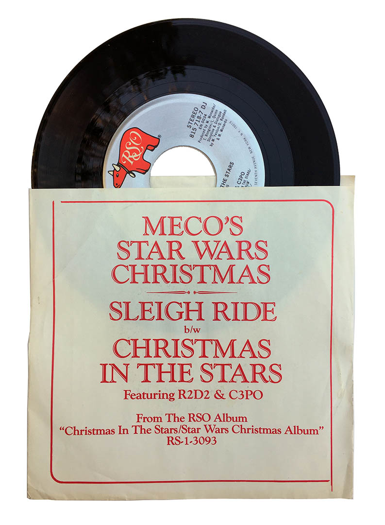Mego's single for Christmas in the Stars.