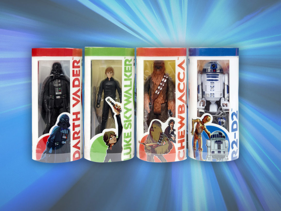 Star Wars Galaxy of Adventures figures from Hasbro.