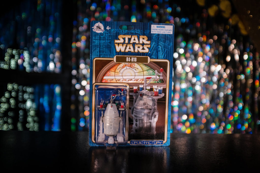 Disney Parks R2-H18 droid in box.