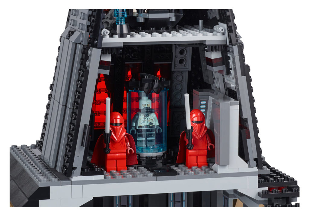 LEGO Star Wars Darth Vader's Castle - bacta chamber.