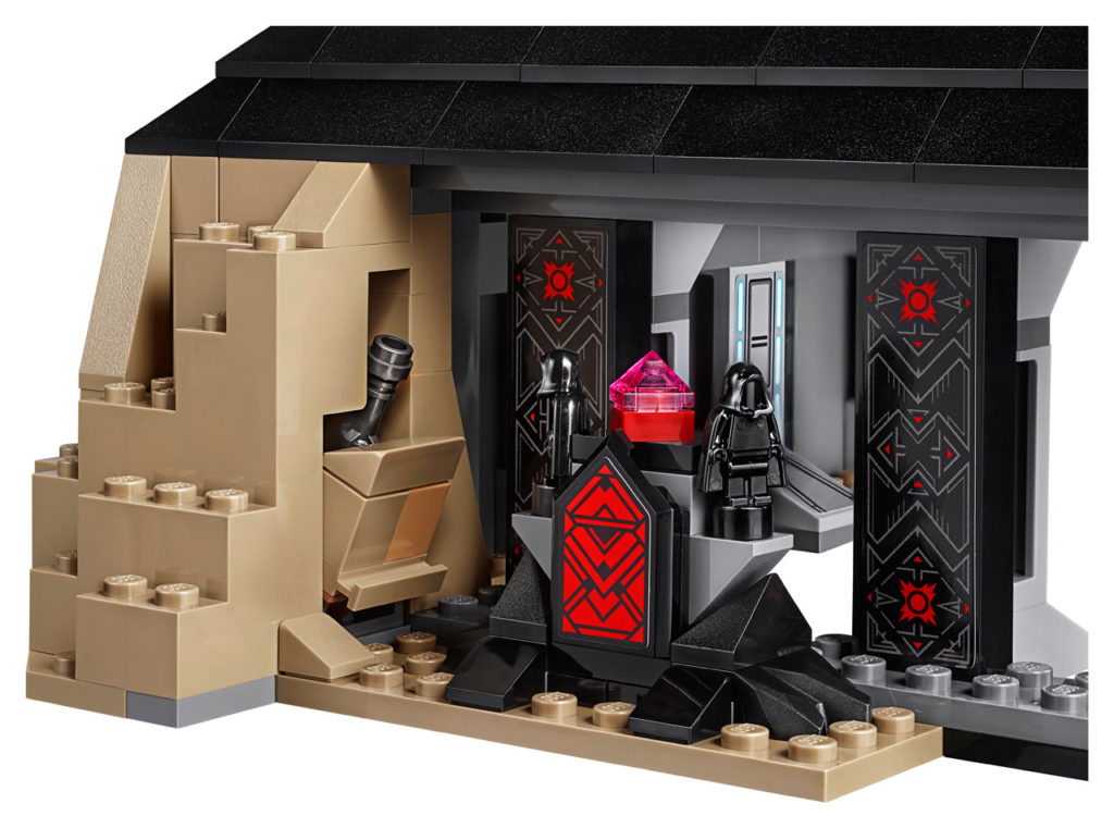 LEGO Star Wars Darth Vader's Castle - Sith Chamber.