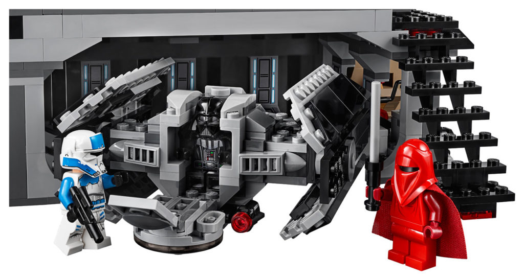 LEGO Star Wars Darth Vader's Castle - TIE Advanced