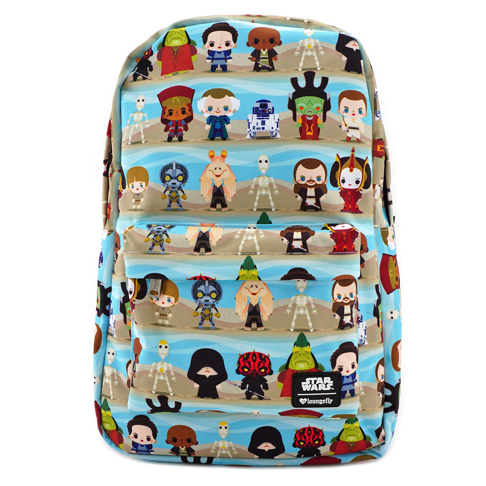 Loungefly Star Wars: The Phantom Menace backpack.