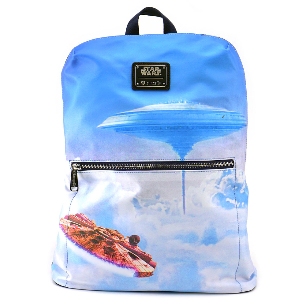 Loungefly Millennium Falcon backpack.