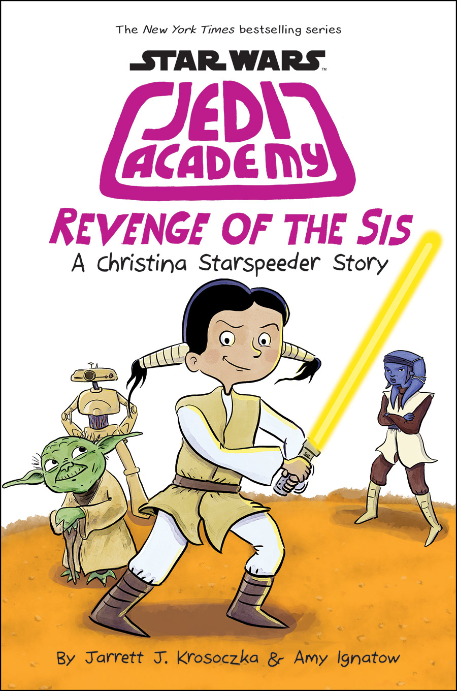 The cover art for Jedi Academy: Revenge of the Sis.