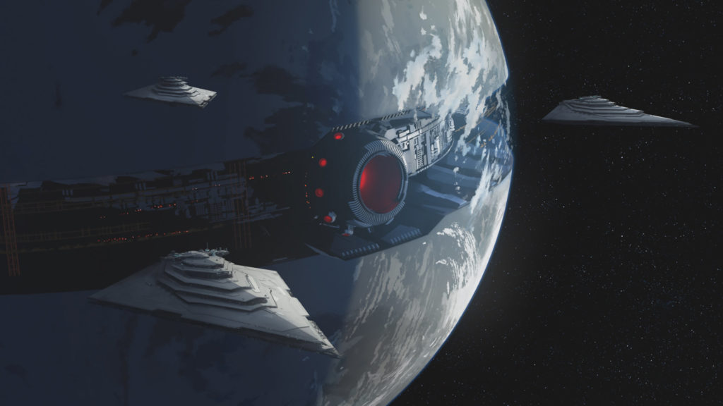 Starkiller Base in Star Wars Resistance.