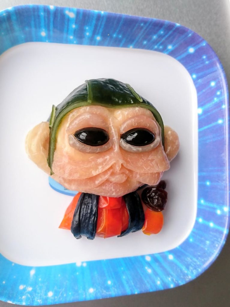 Star Wars Fan Awards 2018 winning Nien Nunb salad.
