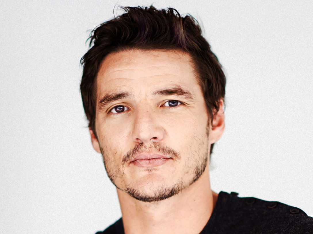 Pedro Pascal of The Mandalorian.