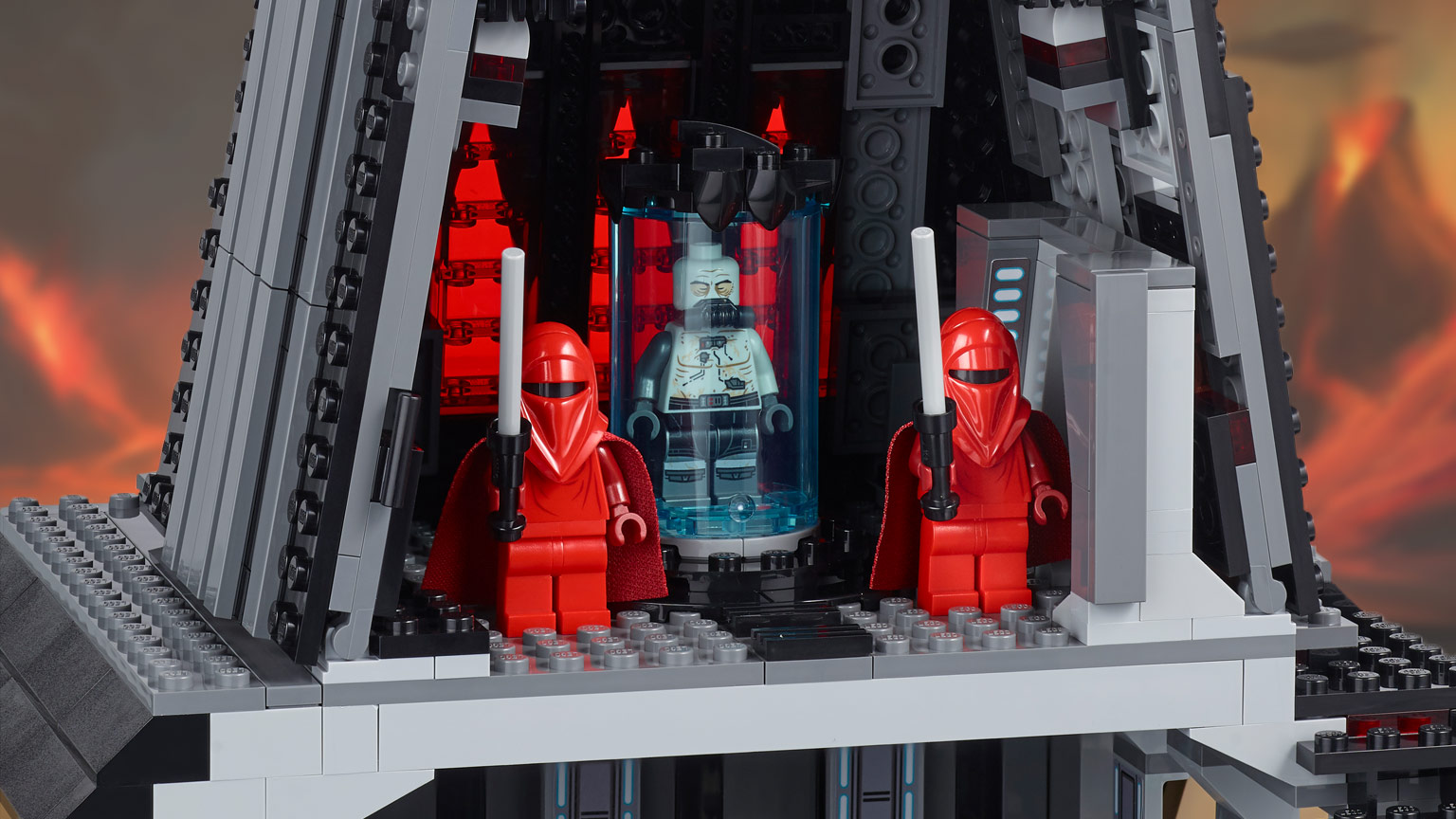 Lego Turns To The Dark Side With New Vaders Castle Set Starwarscom