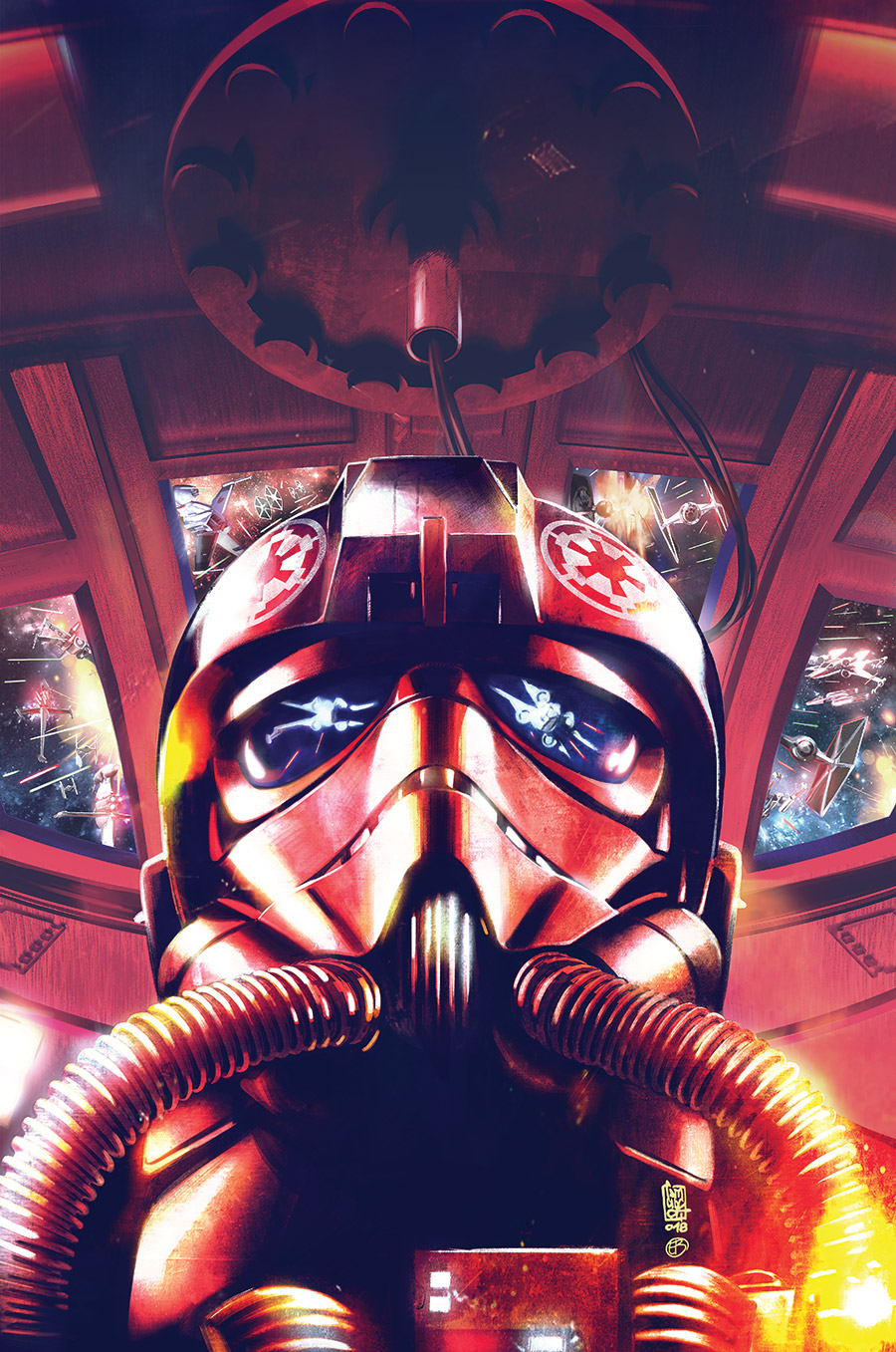 Cover art of Star Wars: TIE Fighter issue 1.