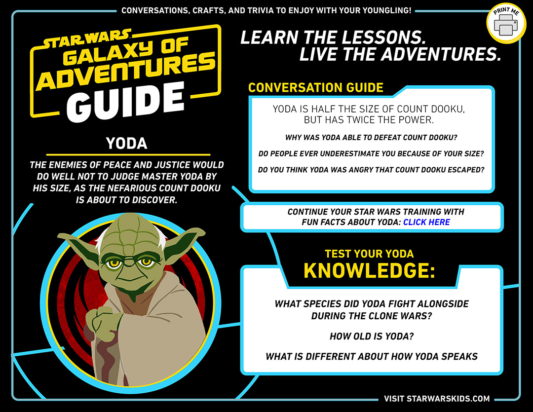Princess Leia Star Wars Galaxy of Adventures guide for parents.