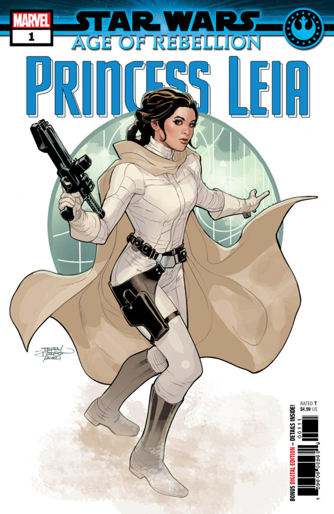 Star Wars: Age of Rebellion - Princess Leia #1 cover.