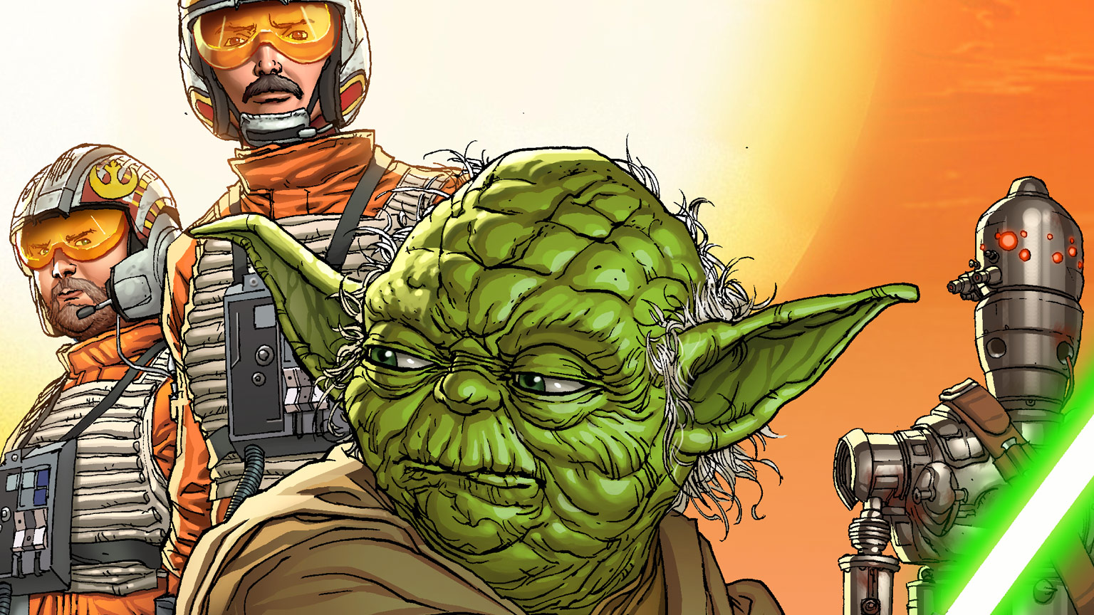 Star Wars: Age of Rebellion #1 cover.