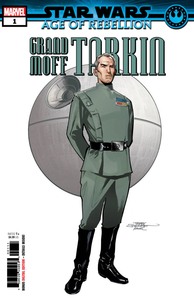 Star Wars: Age of Rebellion - Grand Moff Tarkin #1 cover.