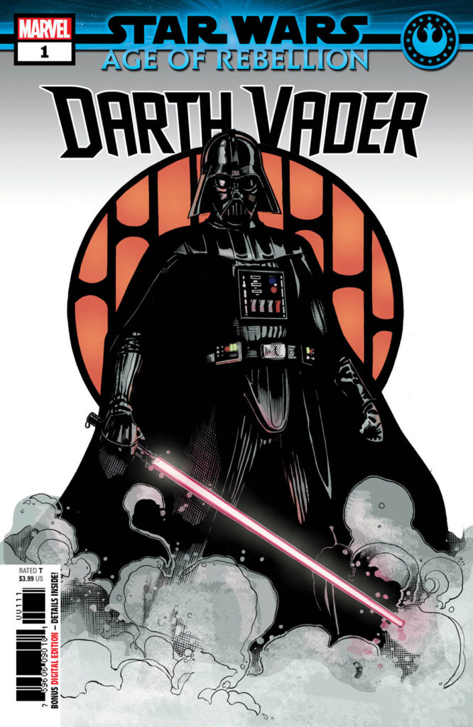 Star Wars: Age of Rebellion - Darth Vader #1 cover.