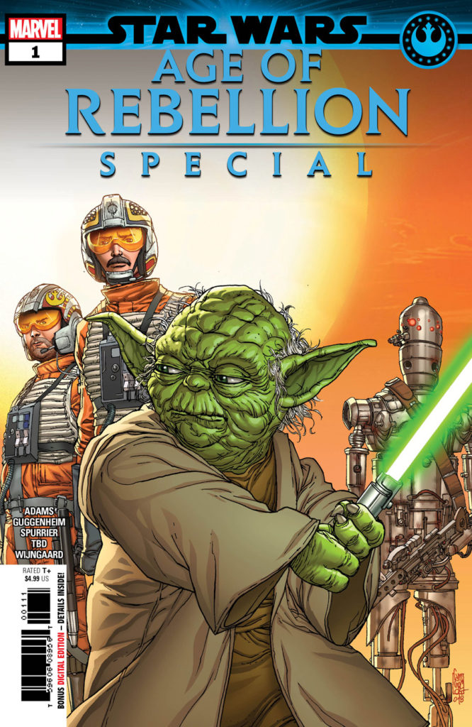 Star Wars: Age of Rebellion Special #1 cover.