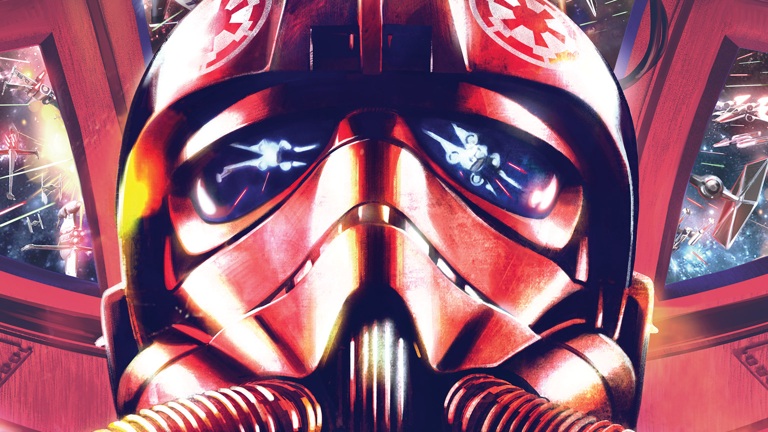 First Look -- Marvel's New Star Wars: TIE Fighter Series and Alphabet Squadron Novel Covers