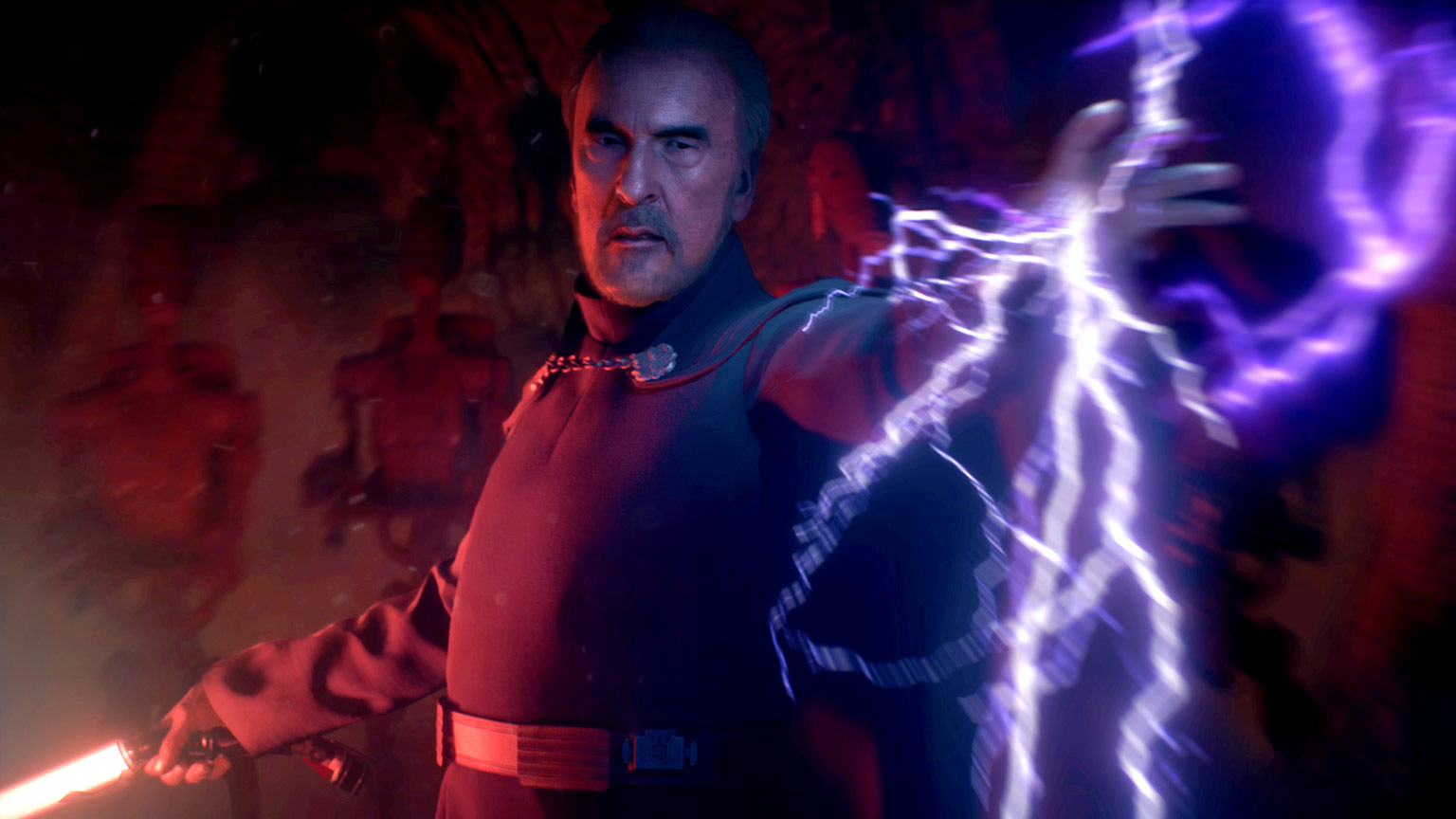 Count Dooku in Star Wars Battlefront II.