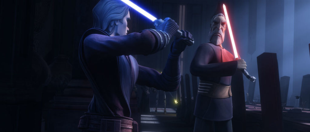 Count Dooku in Star Wars: The Clone Wars.